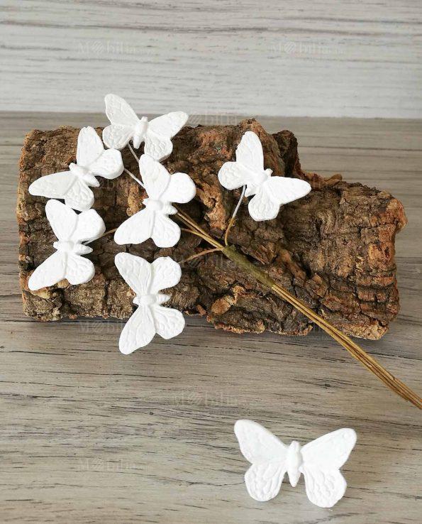 decorazioni farfalle gessetto per bomboniere