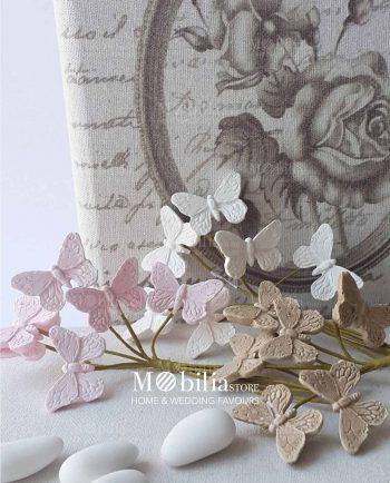 Farfalle segnaposto swarovski vari colori mobilia store for Mobilia utrechtsestraat 62 64
