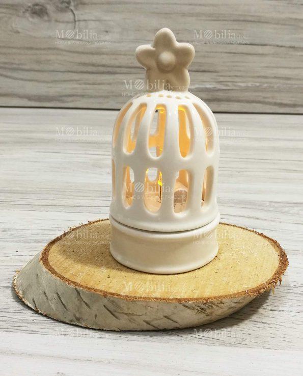 Lanterna Ceramica Gabbietta