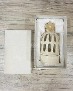 lanterna gabbietta con scatola