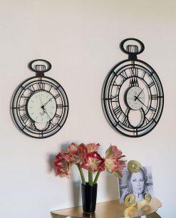 orologio cipollone e cipollone big colore nero arti e mestieri