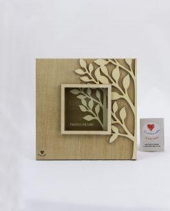portafoto legno albero della vita cuoregaio cuorematto