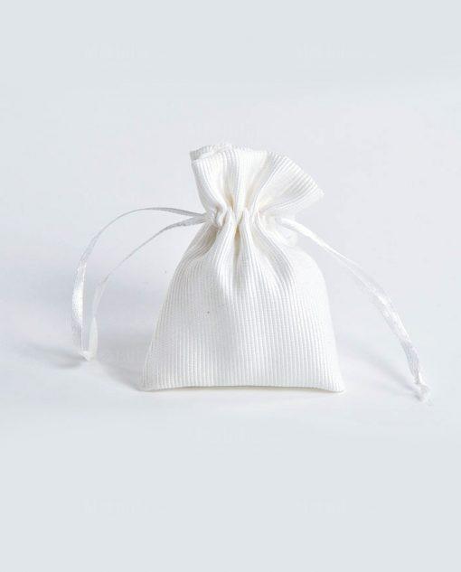 sacchetti in raso cotone confezionati
