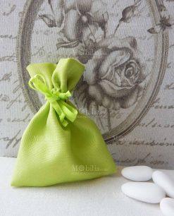 sacchettino portaconfetti verde k 103