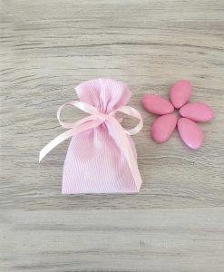 sacchetto confezionato piccolo rosa
