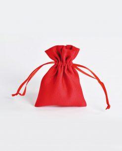 sacchetto raso rosso piccolo