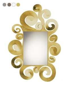 specchio modello temple grande colore oro arti e mestieri