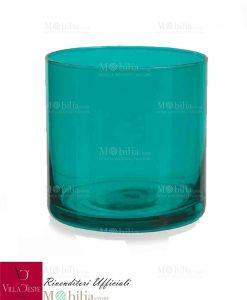 Bicchiere acqua CALA JONDAL villa d'este turchese