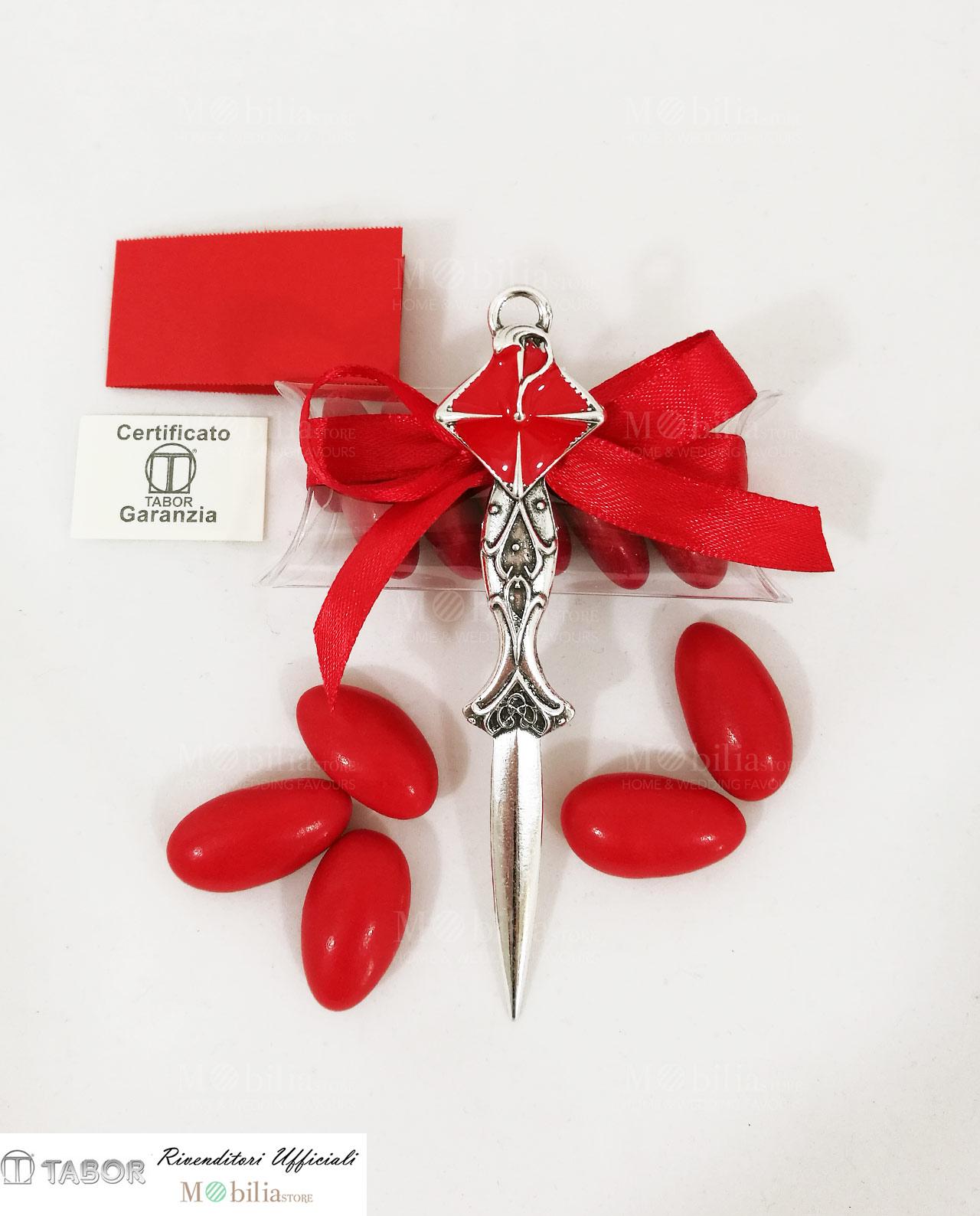 abbastanza Laurea Tagliacarte decorato con Tocco rosso MP24