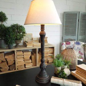 Lampade da tavolo porcellana brandani - Lampade da tavolo in legno ...
