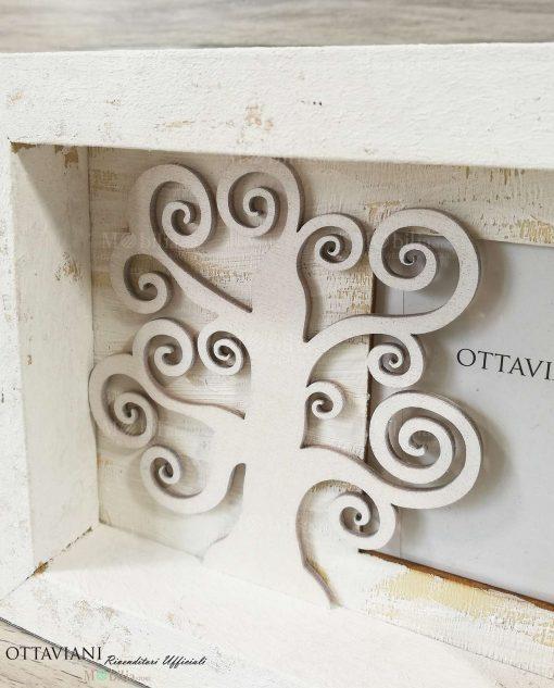 Portafoto Legno Ottaviani dettaglio Albero