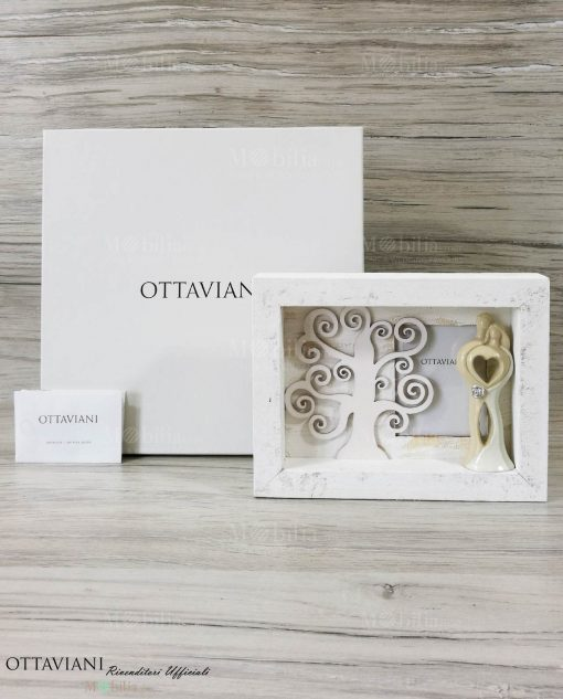 Portafoto Legno con Sposini Ottaviani solo oggetto