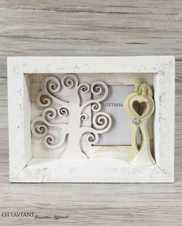Bomboniere Matrimonio Portafoto Albero della vita e Sposini