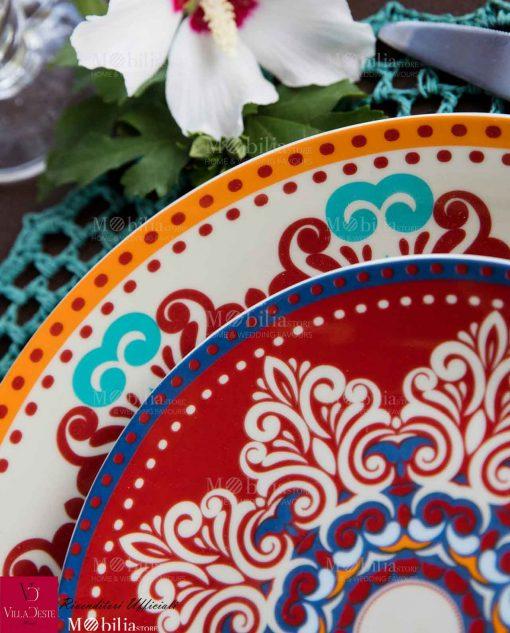 Servizio piatti porcellana shiraz villa d'este gallery2