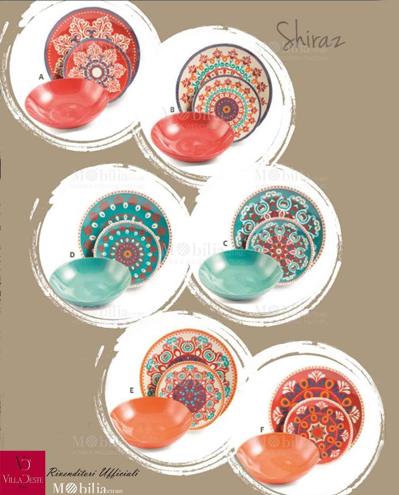 Servizio di piatti collezione sharaz mobilia store home for Servizio di piatti