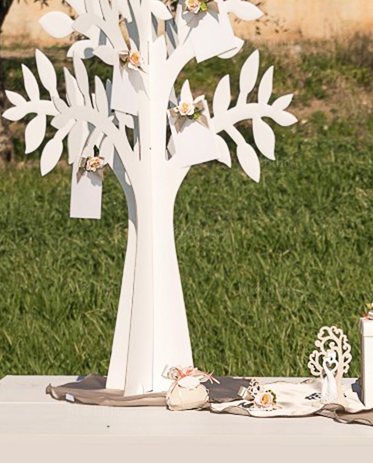 Tableau Mariage Albero Della Vita Cartoncino Bianco Mobilia Store