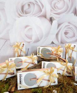 bomboniera tagliapizza rose gold