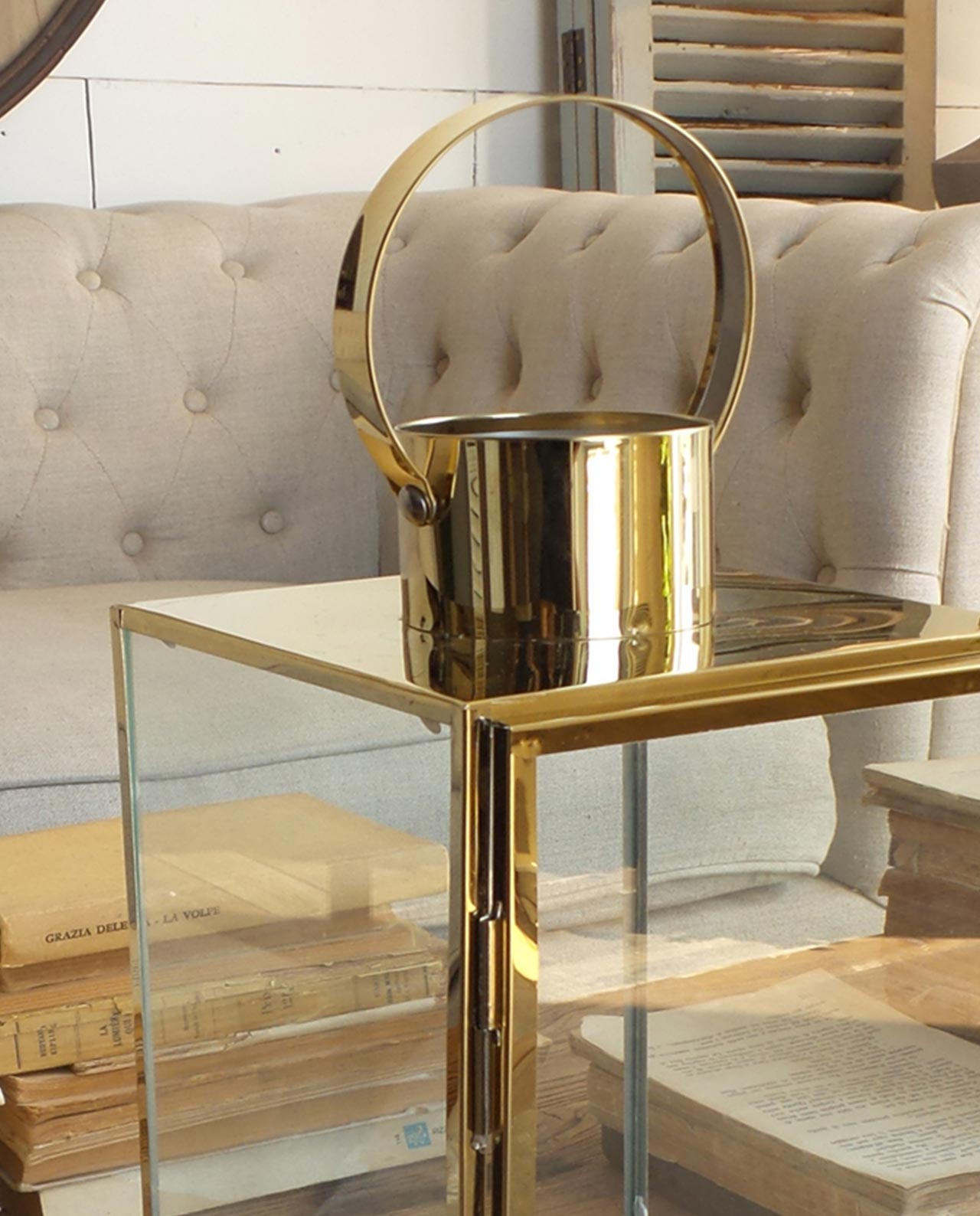 Lanterne acciaio e vetro stile vintage in offerta - Casa in acciaio e vetro ...