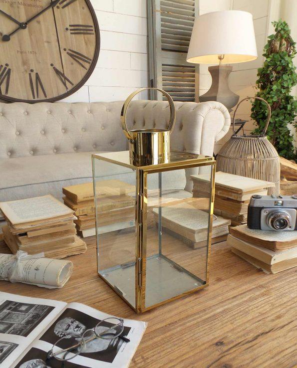 Lanterne acciaio e vetro stile vintage in offerta - Stile vintage casa ...