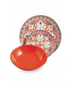 piatto arancio marocco