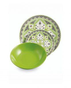piatto verde marocco