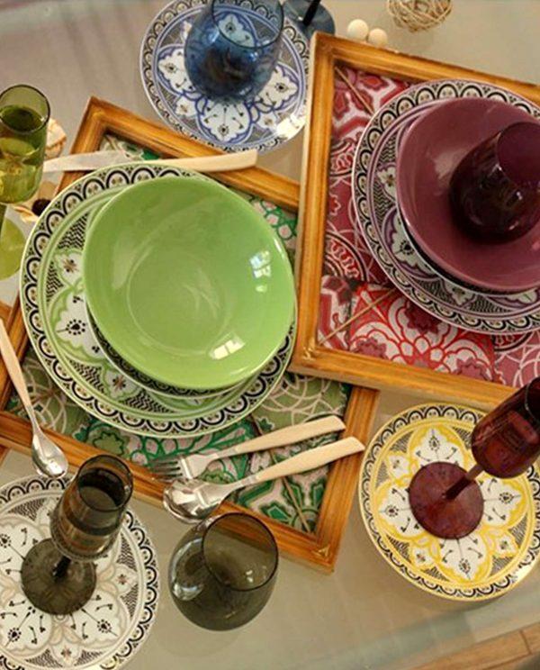 Servizio piatti Marocco Villa D'Este