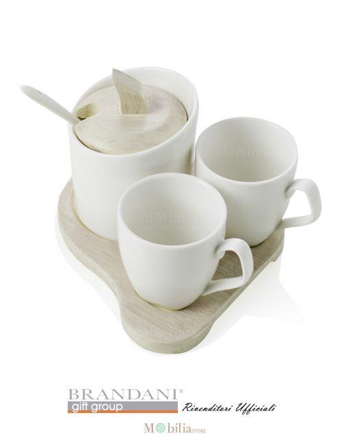 Set Tazzine da Caffè e Zuccheriera Brandani