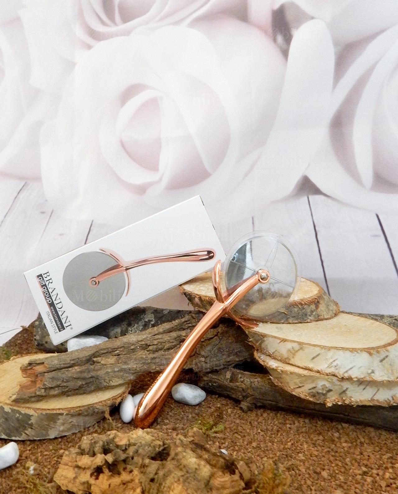 seleziona per autentico outlet in vendita Super carino Accessori cucina tagliapizza rose gold Brandani