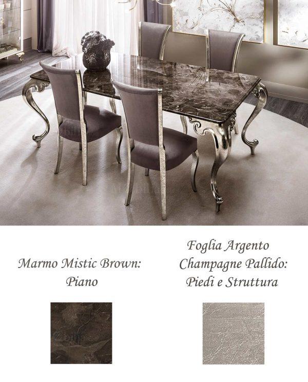 Tavolo Moderno Marmo George Cantori