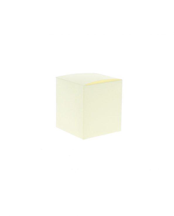 Scatole per Bomboniere Quadrate Cartoncino Panna Economiche