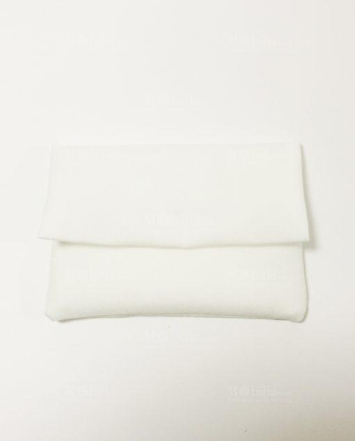 Bustina cotone panna senza confetti