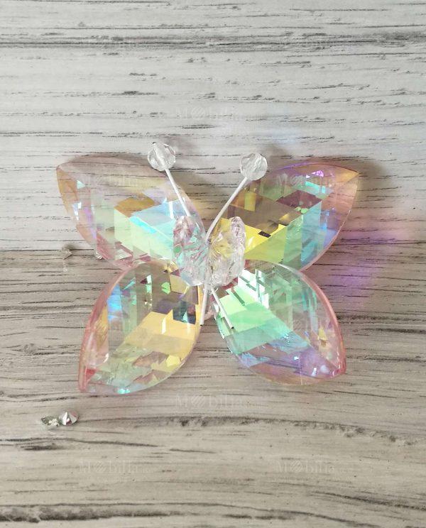 Farfalle Segnaposto Colorate Swarovski Tufano