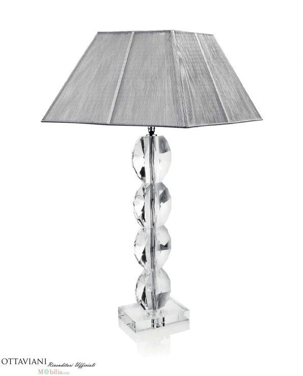Lampade Ottaviani da Tavolo Cristallo modello Diamond