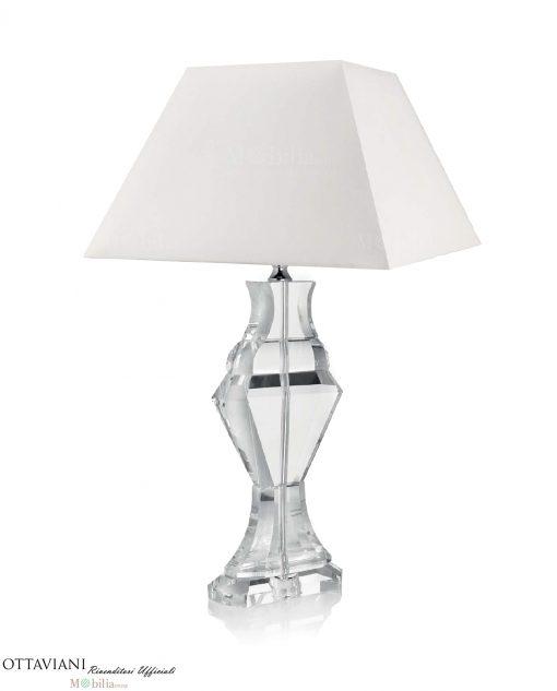 Lampade da Tavolo Cristallo Ottaviani modello Incontro