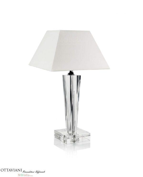 Lampada Cristallo da Tavolo Ottaviani modello New York