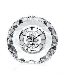 Ottaviani orologio da tavolo cristallo