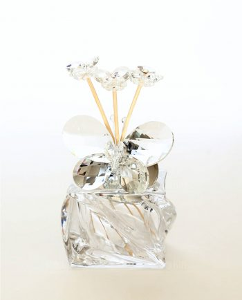 Profumatore ambienti con Farfalla Swarovski Tufano