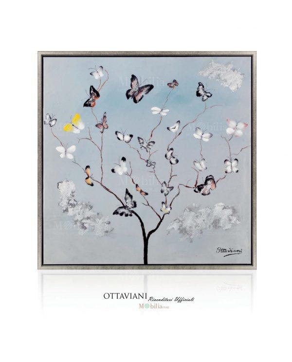 Quadri Moderni Astratti Albero di Farfalle Ottaviani