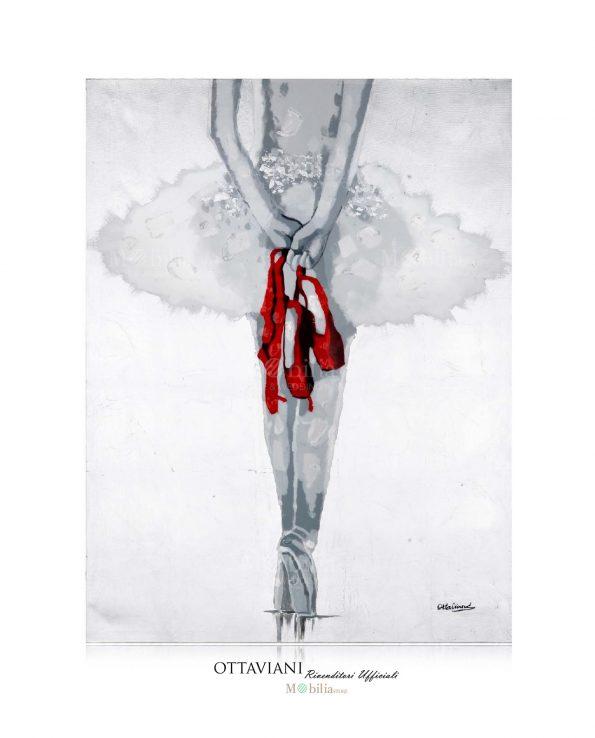 Quadri Moderni Ballerina sulle punte Ottaviani