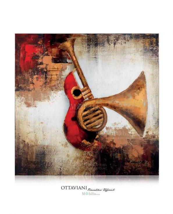 Dipinti su Tela Strumenti Musicali Jazz Ottaviani