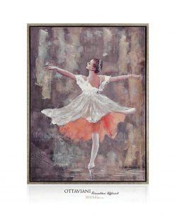 Quadro ballerina danza classica Ottaviani