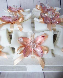 bomboniera farfalla in cristallo tufano