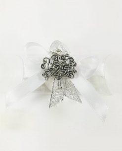 bomboniera nozze argento con ciondolo albero della vita tabor
