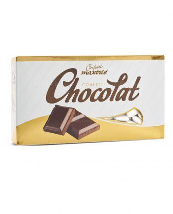 Confetti Cioccolato Cuori Bianchi Maxtris