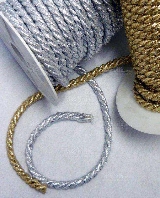 Cordoncino 2 capi oro o argento