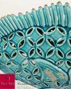 Portacandele Ceramica Pesce Decorativo Villa d'Este