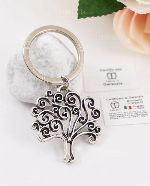 portachiave ciondolo albero della vita tabor argento