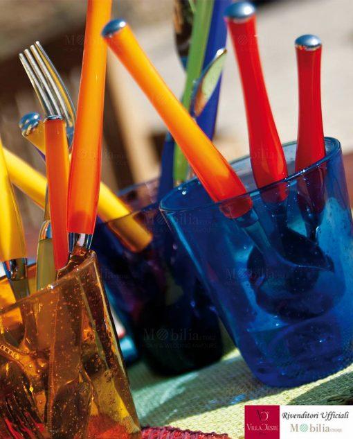 Bicchieri acqua blu cancun