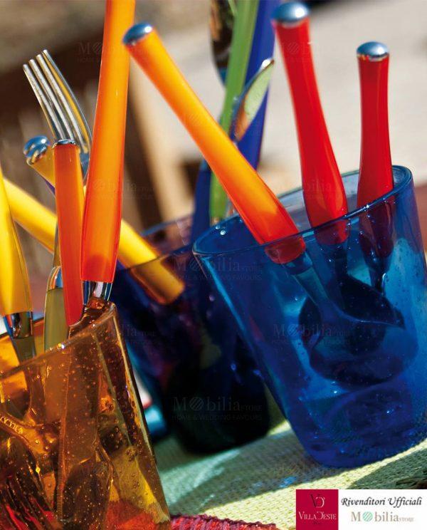Bicchiere multicolor cancun villa d'este