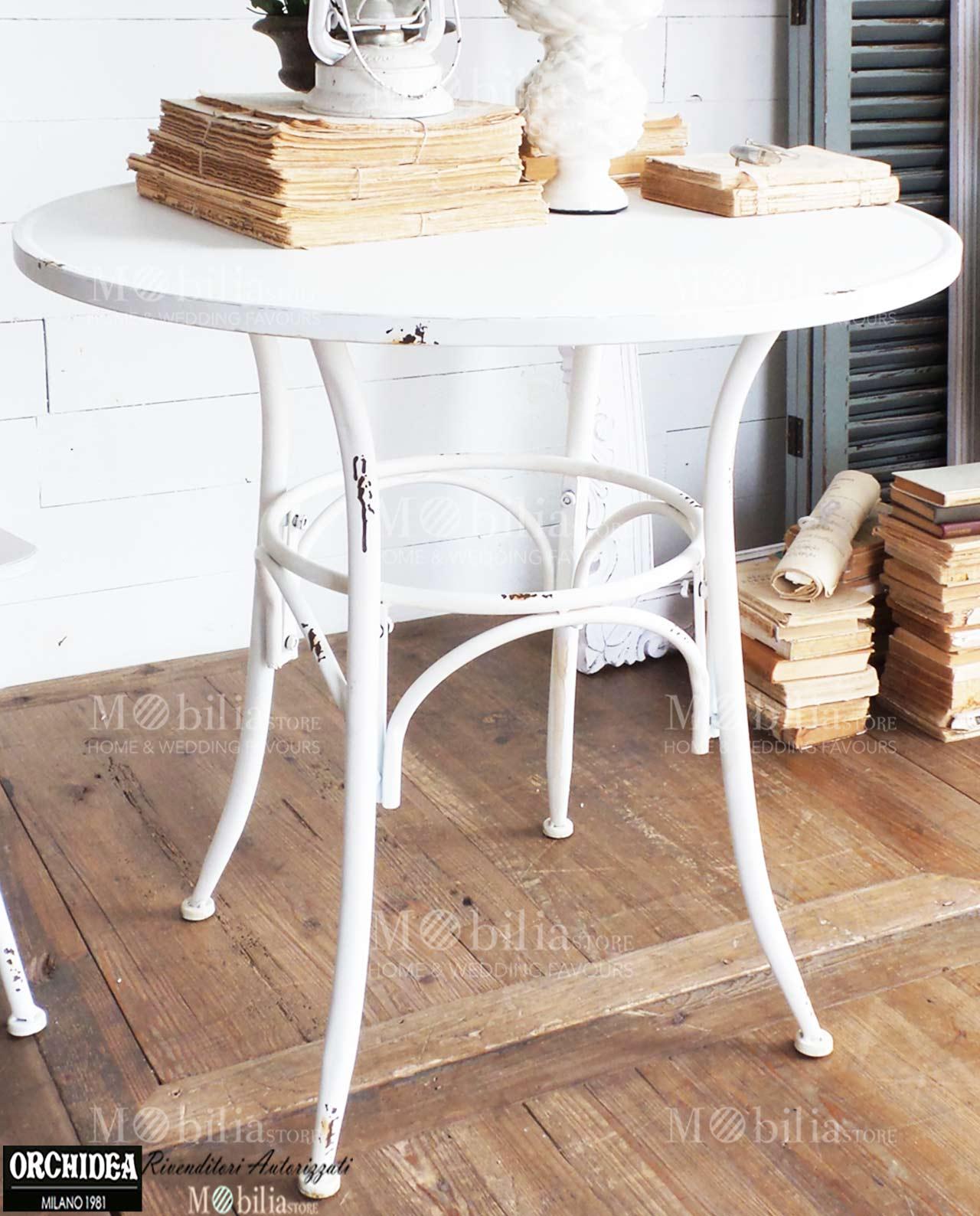Tavoli da giardino rotondi Ferro Battuto vintage – Mobilia Store Home & Favours